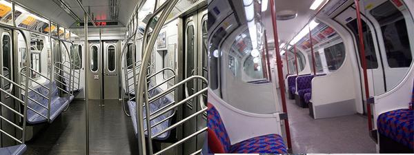 Subway As Public Transit  New York Vs  London
