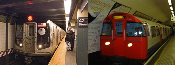 Subways: New  York & London