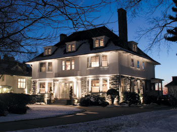 Pictures Of Exterior House Lighting