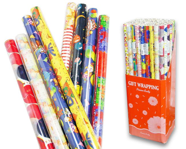Sobering fact wrapping paper could cover over 5000 for How to wrap presents with wrapping paper