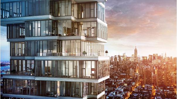 luxury downtown condominium